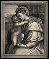 Saint Mary (the Blessed Virgin) with the Christ Child. Engra Wellcome V0033800.jpg
