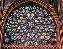 the chapels rose window chapelle de la sorbonne chappelle de la