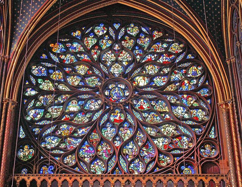 Fitxer:Sainte Chapelle - Rosace.jpg