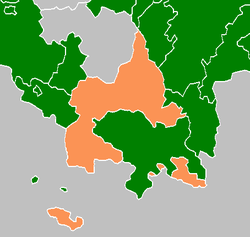Location of Saxe-Hildburghausen