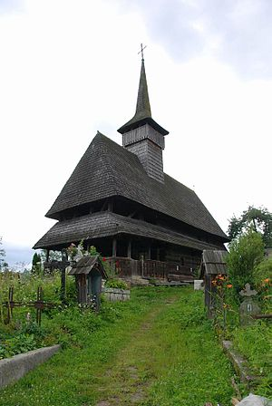 Săliștea de Sus - Wooden church