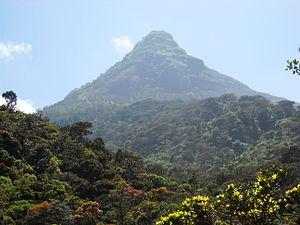Saman (deity) - God Saman is the guardian deity of the Sri Pada mountain (Adam's Peak)