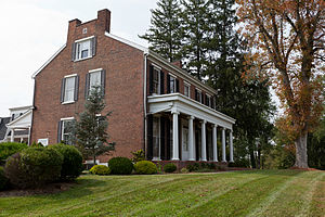 North Strabane Township, Washington County, Pennsylvania - The Samuel Brownlee House, a historic site in the township