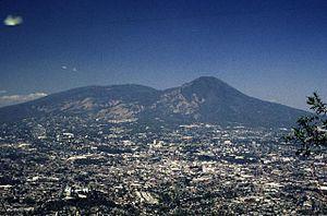 San Salvador (volcano) - Image: San Salvador Volcano