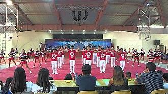Fr. Bellarmine Baltasar Gymnasium - Image: San Beda Alabang Gym