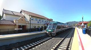 San Rafael Transit Center Bus and railway station in San Rafael, California