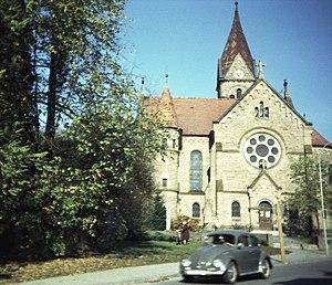 Neuendettelsau - Lutheran St. Nikolai church