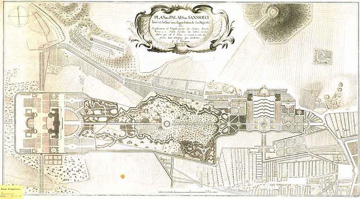 Palais De Sanssouci Wikip Dia