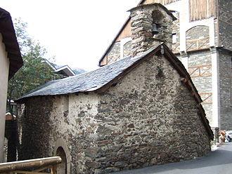Església de Sant Bartomeu de Soldeu - Església de Sant Bartomeu de Soldeu