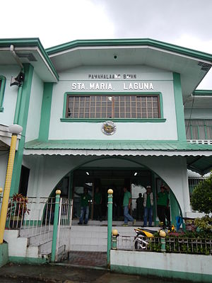 Santa Maria, Laguna - Santa Maria Municipal Hall
