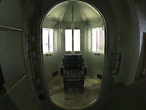 Gas chamber - The former gas chamber at New Mexico State Penitentiary, used only once in 1960 and later replaced by lethal injection.