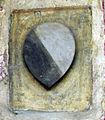 Santa croce, loggiato sud, stemma capponi.jpg