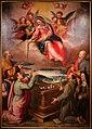 Santi di tito, madonna della cintola, 1600 (banca popolare di vicenza) 01.jpg