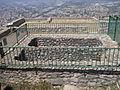 Santuario di Monte Sant'Angelo. Piccolo tempio. Esterno 8 (cisterne doppie).JPG