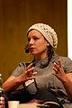 Sara Stridsberg, vinnare av Nordiska radets litteraturpris 2007 pa seminariet, forfattaren i boken, pa bokmassan i Goteborg 2007-09-29.jpg