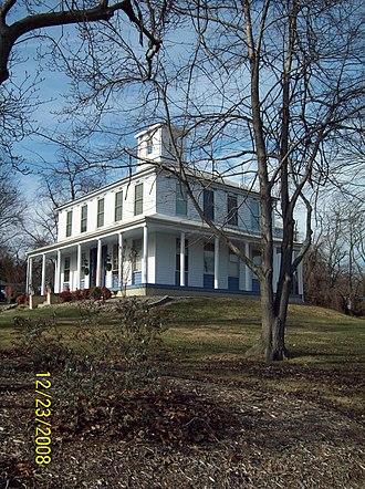 Savage Mill Historic District - Image: Savage Mill House Dec 08