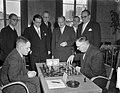 Schaken Nederland tegen Duitsland in Utrecht, Bestanddeelnr 906-3370.jpg