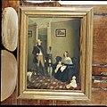 Schilderij van de thuiskomst van Theodoor Jacques Ferdinand Dommer en Annélie van Beveren met hun kinderen, circa 1845 - Wassenaar - 20429514 - RCE.jpg