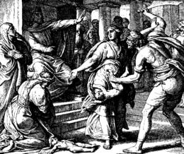 Schnorr von Carolsfeld Bibel in Bildern 1860 109