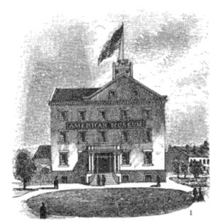 Scudder's American Museum - Scudder's American Museum circa 1825