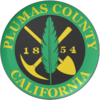Oficiala sigelo de Plumas Distrikto, Kalifornio