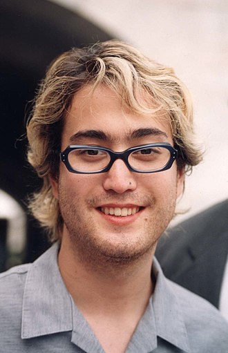 Sean Lennon - Lennon at a Free Tibet event in 1998
