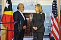 Secretary Clinton Holds a Bilateral Meeting With Timor-Leste Prime Minister Gusmao (5475362566).jpg