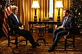 Secretary Kerry is Interviewed by Sergey Brilev of Russia's Channel One TV (23688756871).jpg
