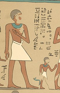 ancient Egyptian draughtsman