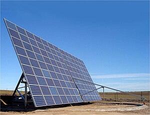 Solar tracker - Azimuth-altitude dual axis tracker - 2 axis solar tracker, Toledo, Spain.