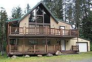 Senator Ted Stevens Girdwood Alaska house