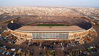 1998 African Championships in Athletics - Image: Senegal 1 Cameroon 0 Stade Léopold Sédar Senghor
