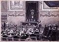 Sesión en la Academia, 15.3.1904, RABASF, painting by Mariano Pedrero.jpg