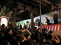 Setsubun at Japanese Shinto shrine in rural Fukui prefecture.jpg