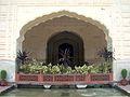 Shalamar Garden July 14 2005-South wall courtyard arches.jpg