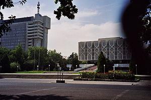 Sharof Rashidov - Sharof Rashidov Street in Tashkent.