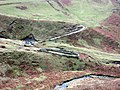 Sheepfold and ford in Swarth Greaves beck - geograph.org.uk - 670596.jpg