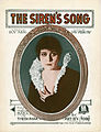Sheet music cover - THE SIREN'S SONG (1919).jpg