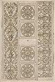Sheet of border segments- vertical floral ornament, horizontal frieze, four corners MET DP833949.jpg