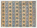 Sheet with five borders with floral and striped patterns Met DP886657.jpg