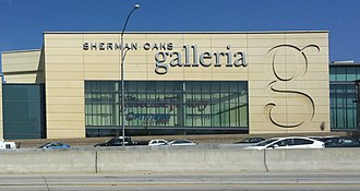 Sherman Oaks Galleria - The Galleria, seen from I-405