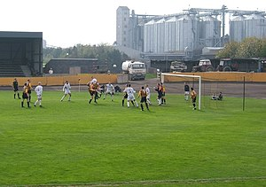 Scottish League Two - Image: Shielfield Park, Home of Berwick Rangers FC geograph.org.uk 409958