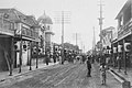 Shimoyokogai-dori Street at Tainan under Meiji era.jpg