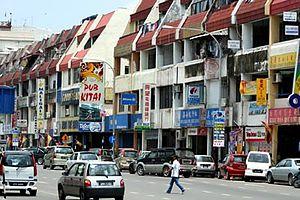 Bintulu - The town of Bintulu