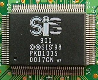 Silicon Integrated Systems - SiS LAN Chip SiS900