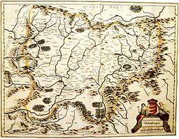Carte de la Transylvanie