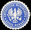 Siegelmarke Amtsbezirk Mondschütz - Kreis Wohlau W0223165.jpg