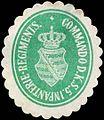Siegelmarke Commando des K. S. 5. Infanterie-Regiments W0285614.jpg