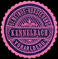 Siegelmarke Gemeinde-Vorstehung Kennelbach - Vorarlberg W0261637.jpg