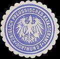 Siegelmarke K.Pr. Katasteramt I Dortmund W0360528.jpg